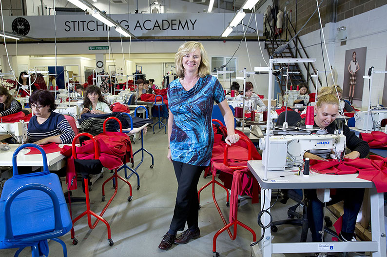 Jenny Holloway, the driving force behind the new Fashion Technology Academy