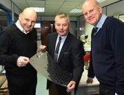 (l-r) Stuart Weston, Chris Ball and Ian Whateley