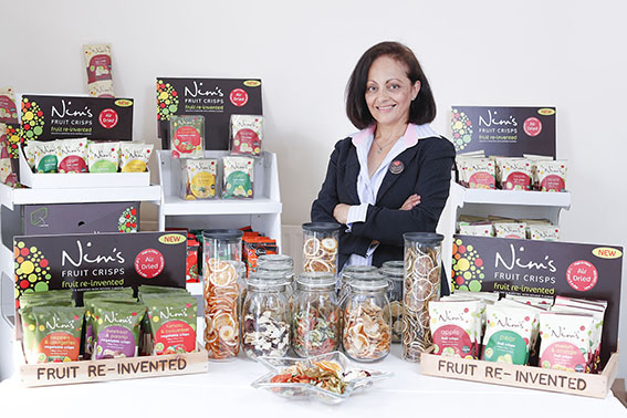 Nimisha Raja, Founder of Nim's Fruit Crisps