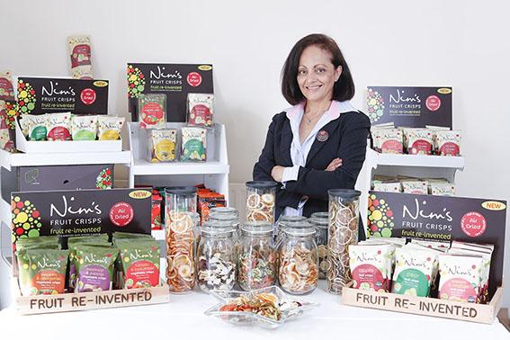 Nimisha Raja, Founder of Nim's Fruit Crisps