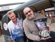(l-r) Patrick Downham and Steve Money (both Star Feast Foods)