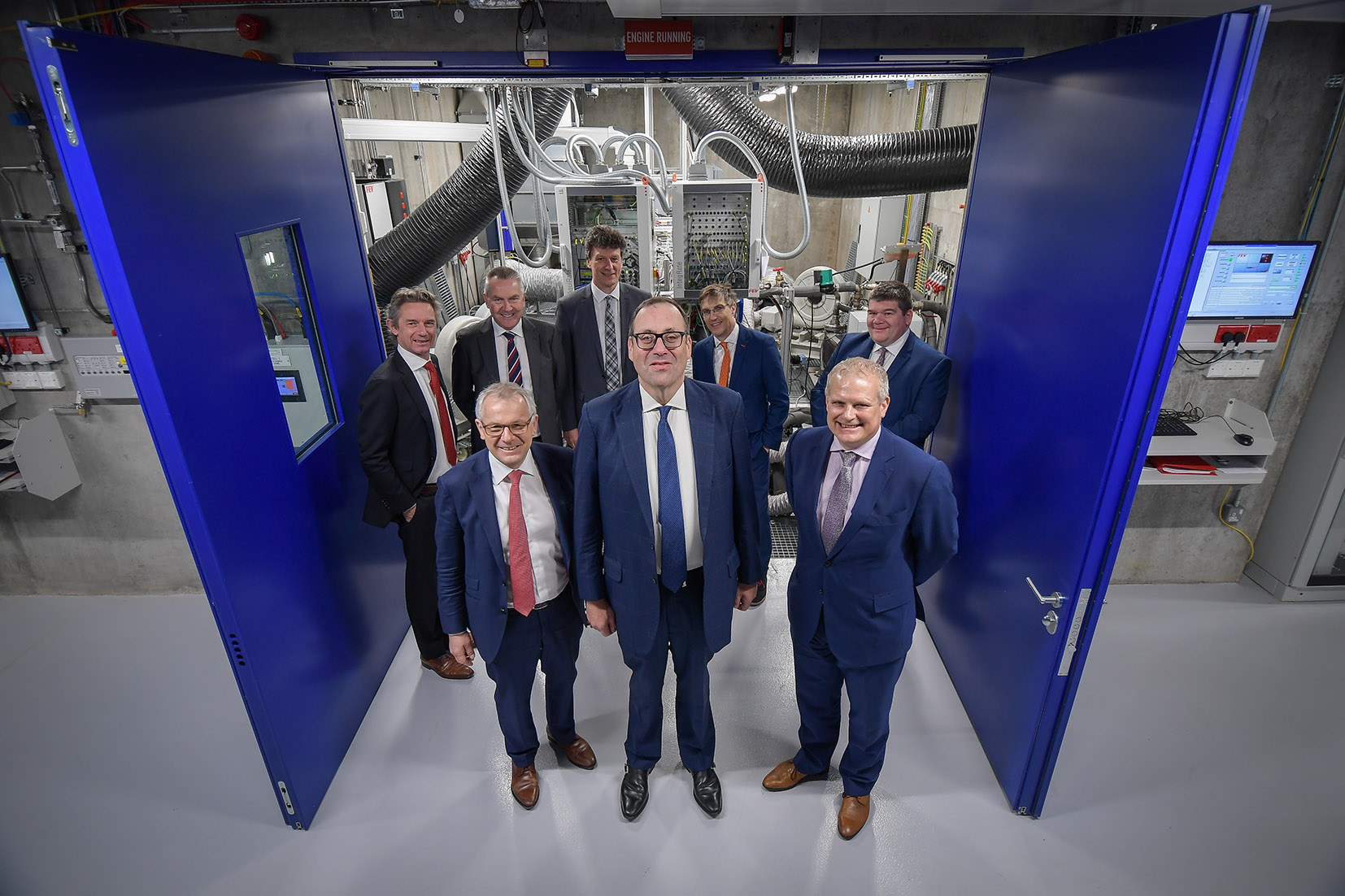 Copyright 2018 Mike Sewell (tel: 07966 417114) Photograph by Mikey Sewell. Official opening of the Centre For Advanced Low-Carbon Propulsion Systems (C-ALPS) at Coventry University's Innovation Village.