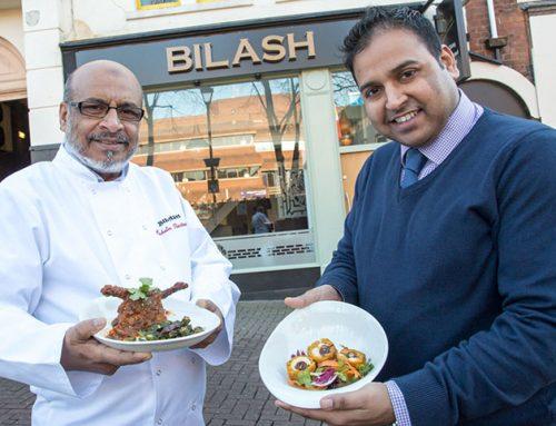 Bilash cooks up £100,000 investment