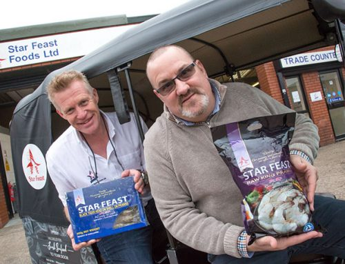 Wolverhampton seafood manufacturer feasts on new business launch