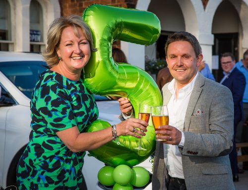 'Five Star' birthday present for Cucumber PR