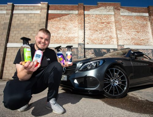 Harry planning to clean up with new car products business